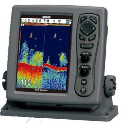 画像2: KODEN 光電 CVS-128B 8.4インチカラー液晶ブロードバンド魚探 送信周波数:38〜75kHz 送料無料