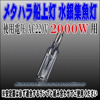 画像1: メタハラ船上灯 スリムタイプ水銀灯 2KW